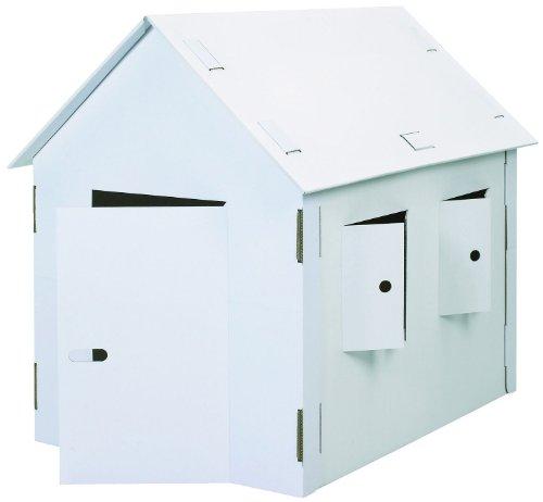 Joypac 39105 - Bastelkarton Spielhaus, XXL, 120 x 80 x 110 cm
