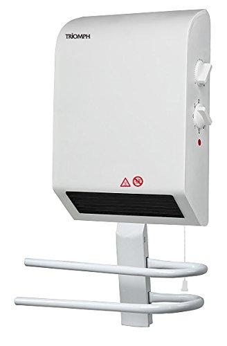 Leroy Merlin BH-1600GK - Radiador del baño triunfado con 1600 W toalleros secadora