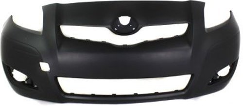 Crash Parts Plus Primed Front Bumper Cover Replacement for 2009-2011 Toyota Yaris ()
