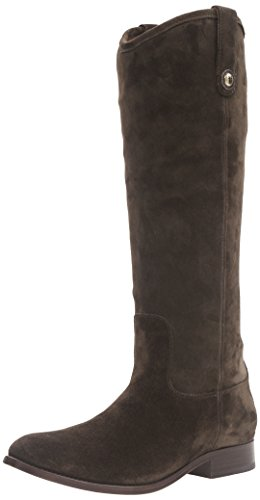 FRYE Women's Melissa Button Riding Boot, Fatigue-77173, 9 M US by FRYE