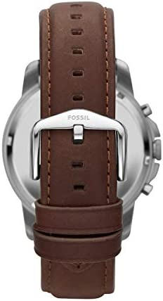 Fossil Men's Grant Stainless Steel Chronograph Quartz Watch WeeklyReviewer