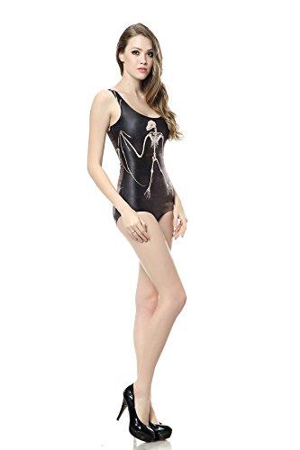 THENICE - Conjunto - para mujer Bat skeleton