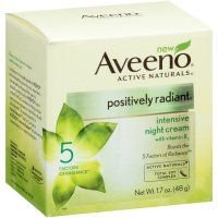 AVEENO Active Naturals Positively Radiant Intensive Night Cream 1.70 oz (Pack of 12) by Aveeno