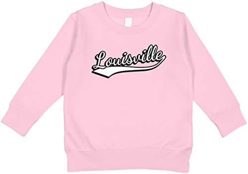 Amdesco Louisville, Kentucky Toddler Sweatshirt, Pink ()
