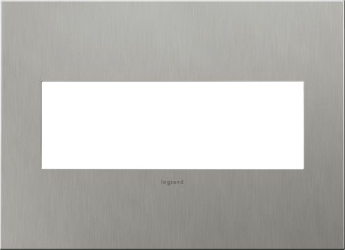 stainless steel 3 gang wall plate - 8