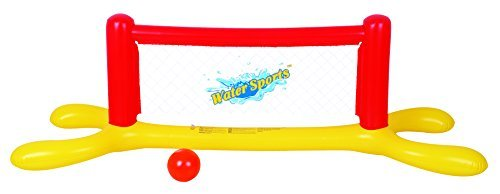 Inflatable Volleyball Net - Balance Living Water Sports Inflatable Pool Volleyball Set. Item dimensions - 87