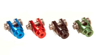 Outlaw Racing ORBC1R Honda CR125 R CR 250 R REAR BRAKE PEDAL ADJUSTER CLEVIS RED Outlaw Racing Products
