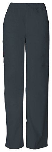 Dickies Mens Trendy Zip Fly Pull On Pant Pewter Xxx Large 81006T