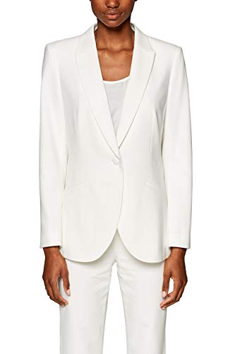 off Chaqueta De Traje Esprit Para Collection Mujer White Blanco 110 qg1ExwT0
