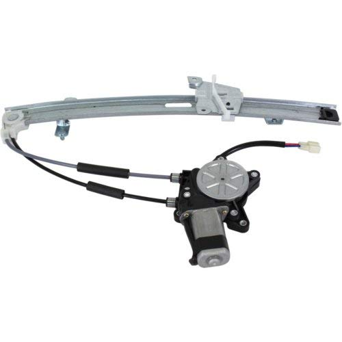 Front Window Regulator Compatible with FORD ESCORT 1997-2002 LH Power with Motor