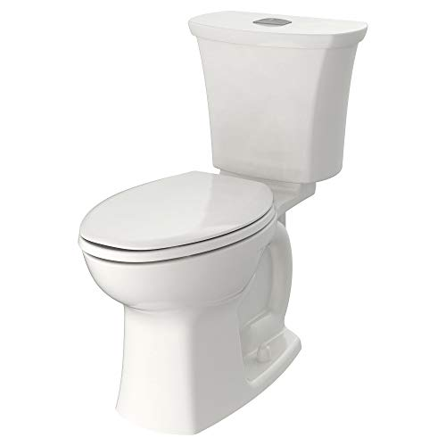 American Standard 204AA200.020 Edgemere Right Height Elongated Dual Flush Toilet White by American Standard (Image #1)