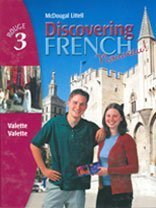 Discovering French, Nouveau!: Student Edition Level 3 2004