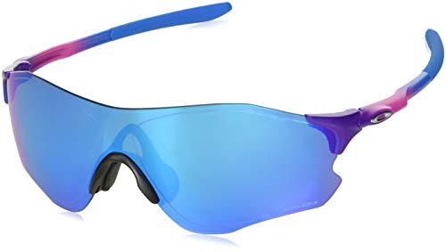 Oakley Men's OO9313 EVZero Path Asian Fit Shield Sunglasses, Multicolor/Prizm Sapphire, 38 ()