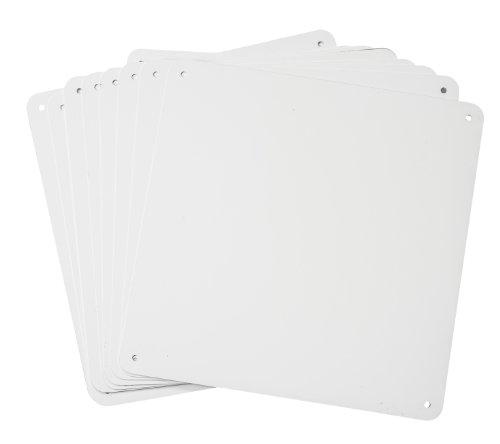 Brady 106462 Sign Blanks, Aluminum, 10.25
