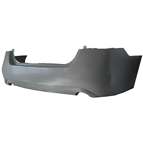 CPP Primed Rear Bumper Cover Replacement for 2013-2014 Nissan Altima Sedan