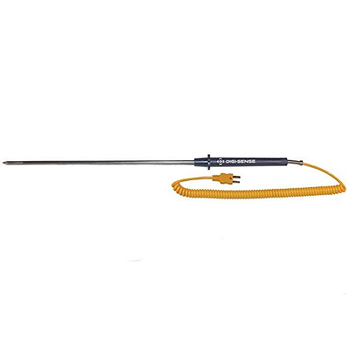 Oakton WD-93601-44 Extra-Long Heavy-Duty Thermocouple Probe, Type K, -418 to 1652 Degree F, 24