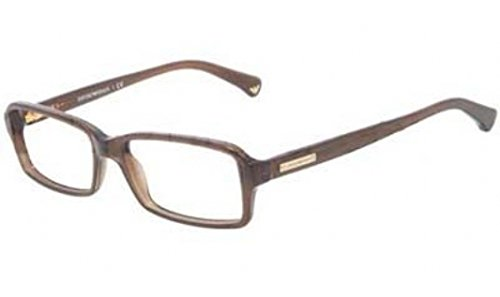 emporio-armani-ea3010-eyeglasses-5073-dark-brown-transp-54mm