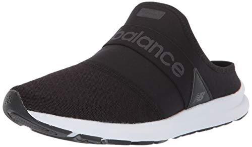 New Balance Women's Nergize V1 Fuel Core Sneaker, Black/Magnet, 8 M US (Balance Clogs New)