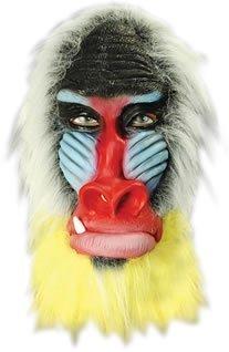 Baboon Mask Madagascar Latex (Baboon Latex Mask)