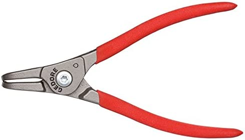 GEDORE 面接触スナップリングプライヤー 軸用曲型 8000 AE01 85‐140mm 2930749