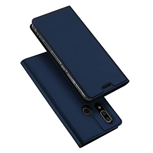 - for Cellphone Cases, DUX DUCIS Skin Pro Series Horizontal Flip PU + TPU Leather Case for Sharp AQUOS S3, with Holder & Card Slots (Color : Blue)