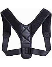 Justerbar hållningskorrigerare män kvinnor nacke rygg axel lambour övre stag för stöd för klaviska hållningar - ortopedisk