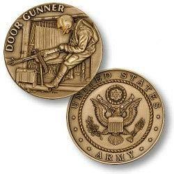 Army Door - U.S. Army Door Gunner Challenge Coin