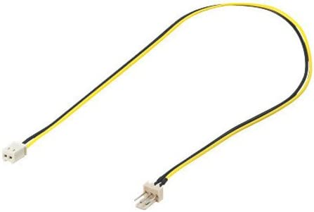 Lüfter Adapterkabel 3pin Stecker Auf 2pin Buchse Good Elektronik