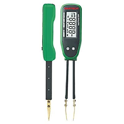 MeterTo Digital Multimeter Smart SMD RC Resistance Capacitance Diode Meter Tester, Auto Scan, Auto Ranging, 3000 Counts