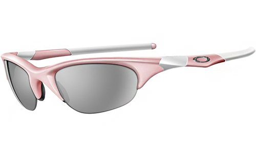 c1de2a28904 Amazon.com  Oakley Women s Half Jacket Asian Fit Sunglasses (Pink  Frame Grey Lens)  Shoes