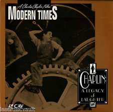 Laserdisc Charlie Chaplin Modern Times a Legacy of Laughter