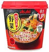 アサヒ おどろき野菜 ユッケジャンチゲ 27.2g 48個セット