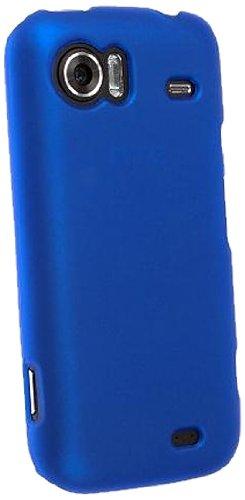 Horny Protectors Velvet Schutzhülle mit Oberfläche für HTC Mozart blau