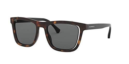 Emporio Armani 0EA4126, Gafas de sol para Hombre, Matte ...