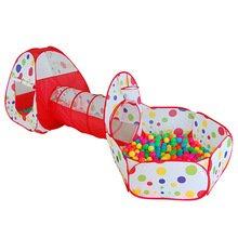 再生テント折りたたみ式Game Room Play House子供誕生日ギフトおもちゃKidsおもちゃテント B073W557RX