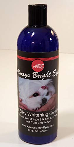 Always Bright Eyes - Super Silky Whitening Conditioner - Deep Coat Conditioning for Dogs and Puppies, Coat Re-moisturizer. (Eyes Dog Bright)