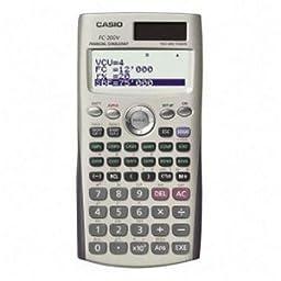 Casio Financial Calculator w/ Direct Mode Key. CASIO SCIENTIFIC CALCULATOR CALC. 4 Line(s) - 12 Character(s) - Dot Matrix - Solar, Battery Powered - 3.17\' x 6.33\' x 0.44\' - Silver