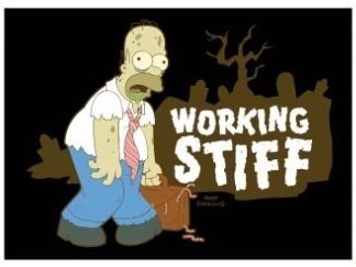 Magnets - The Simpsons - Working Stiff (Universal Simpsons Studios)