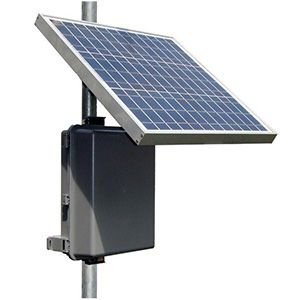 Tycon Power Systems RPPL1248-36-30 Remote Solar Power System with 12V 34Ah Battery and 48V PoE ()