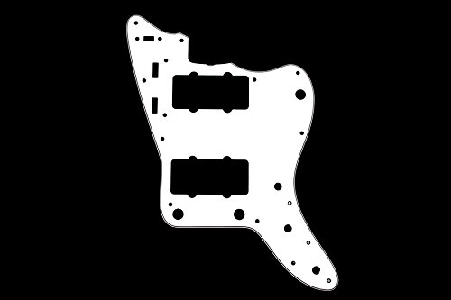 Pickguard for Jazzmaster White 3-ply (W/B/W) Allparts PG-0582-035