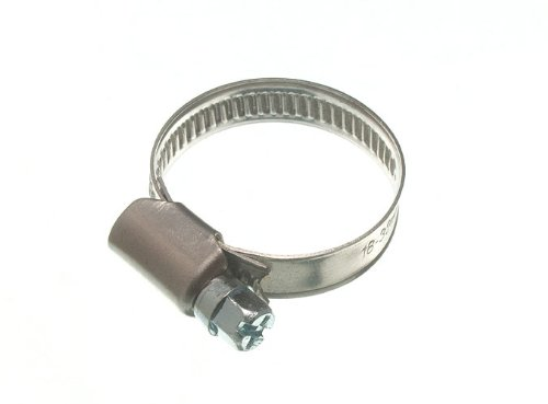 200 X Hose Clamp Jubilee Clip 18Mm - 32Mm Ss Stainless Steel