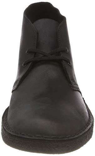 Smooth Leather Black Polacchine Originals Nero Clarks Uomo Boot Desert xwOvg0O6Z