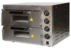 Andrew James Silver Double Deck Pizza Oven_(Doubledeckpizzaoven) at amazon