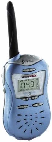 Cobra MicroTalk FRS115 2-Mile 14-Channel FRS Two-Way Radio Pacifica Blue
