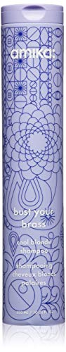 amika Bust Your Brass Cool Blonde Shampoo, 10 oz