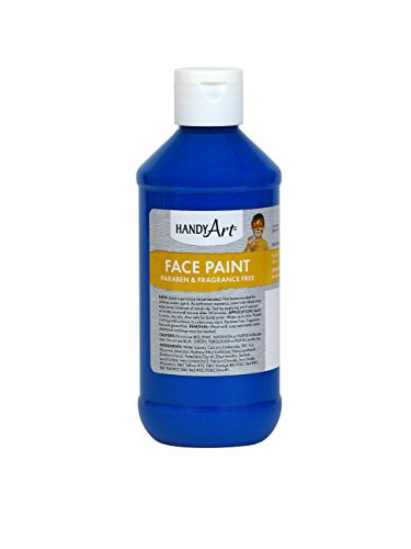 (Handy Art® Face Paint, Blue,)