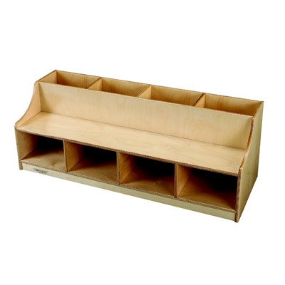 Childcraft 1429288 Rest and Storage Bench, 55-5/8