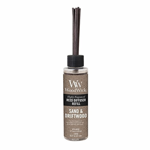 (SAND DRIFTWOOD WoodWick Refill for Reed or Spill Proof Diffusers)