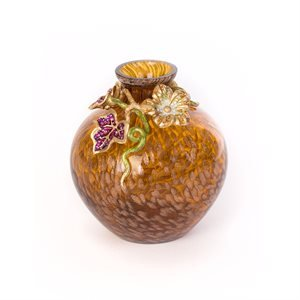 (Jay Strongwater Cleo Leaf & Flower Mini Vase - Bouquet )