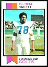- 1973 Topps Regular (Football) Card# 155 Bubba Smith of the Baltimore Colts VGX Condition